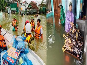Người dân Hà Tĩnh thiệt hại nặng nề sau trận lũ vừa qua