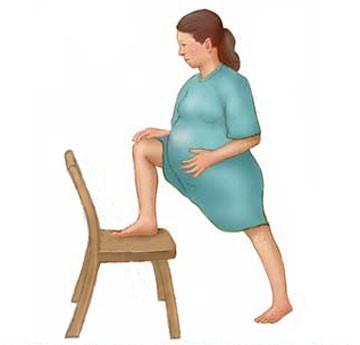 10 tư thế giảm đau khi chuyển dạ mà mẹ bầu cần biết   - Ảnh 4