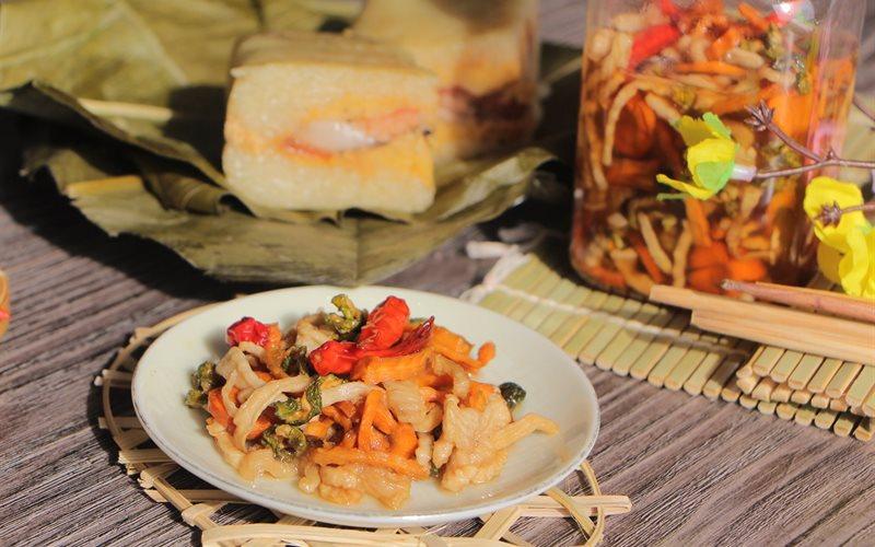 Mách mẹ bầu cách làm dưa món chua ngọt giúp giải nghén, đổi vị bữa ăn hàng ngày - Ảnh 1