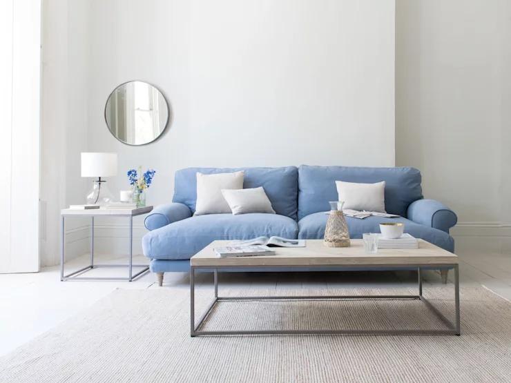 10 mẫu bàn trà tinh tế dành cho nội thất phòng khách nhỏ - Ảnh 3