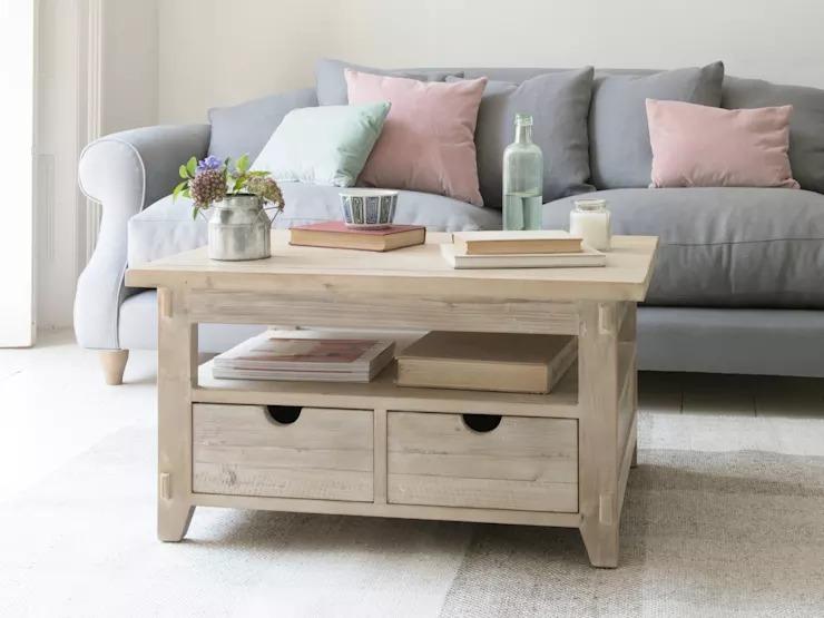 10 mẫu bàn trà tinh tế dành cho nội thất phòng khách nhỏ - Ảnh 7