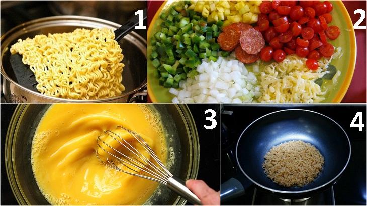 Vào bếp 30 phút có ngay những món ngon dễ làm từ mì tôm thơm ngon khó cưỡng - Ảnh 2