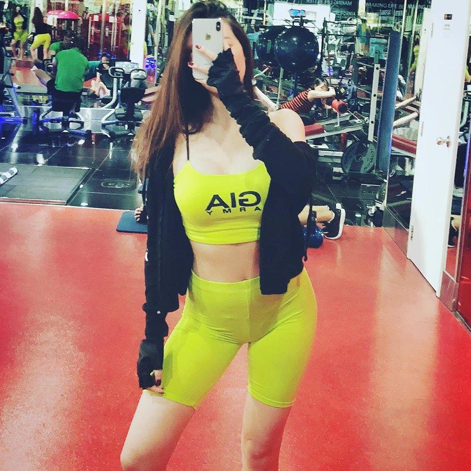 Soán ngôi Angela Phương Trinh, người đẹp từng từ chối tình cảm của Trường Giang đích thị là 'nữ hoàng phòng gym' - Ảnh 1