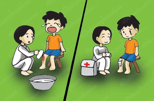 Những chấn thương trẻ dễ gặp phải và phương pháp sơ cứu đúng cách - Ảnh 1