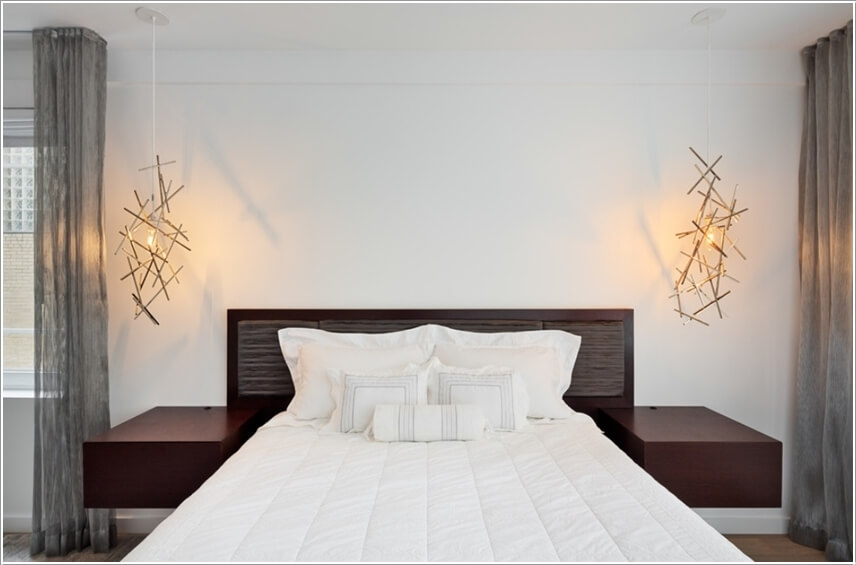 Trong căn phòng này, ánh sáng ấm áp được thiết kế một cách sang trọng và đậm chất nghệ thuật.