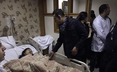 Hai nạn nhân bị thương trong vụ đánh bom khủng bố ở Ai Cập đã được đưa về Việt Nam - Ảnh 1