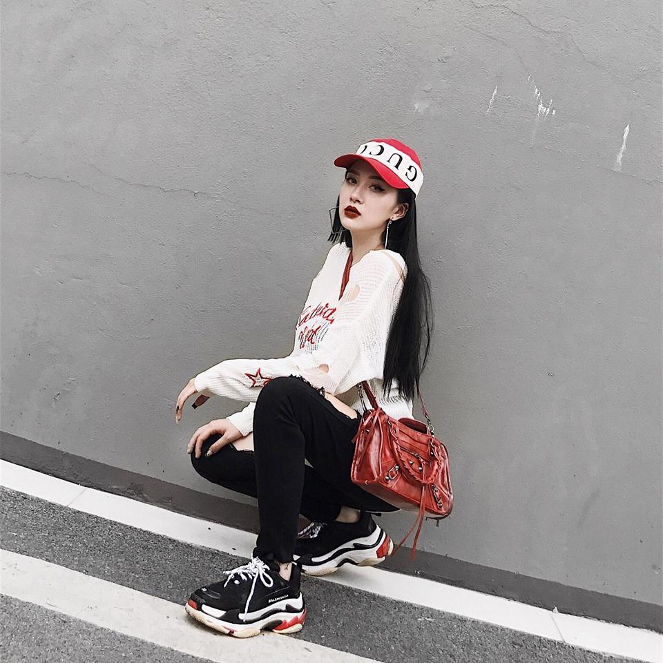Em gái Hương Tràm 'cực chất' với street style sành điệu chẳng kém cạnh mỹ nhân Vbiz - Ảnh 8
