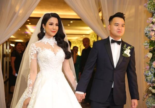 7 đám cưới đình đám, lãng mạn của sao Việt trong năm 2018 - Ảnh 12