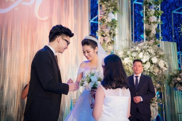 7 đám cưới đình đám, lãng mạn của sao Việt trong năm 2018 - Ảnh 6
