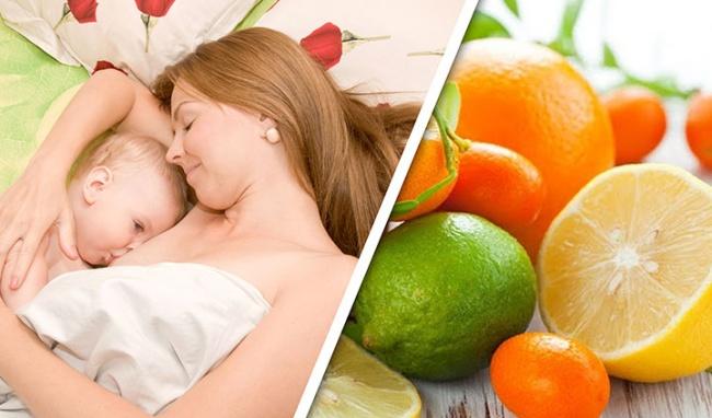 Tại sao phụ nữ cho con bú nên tránh ăn cam quýt, anh đào, mận? - Ảnh 1
