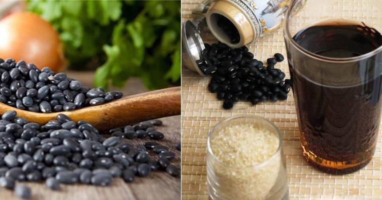 Nước đậu đen có tác dụng giảm cân,