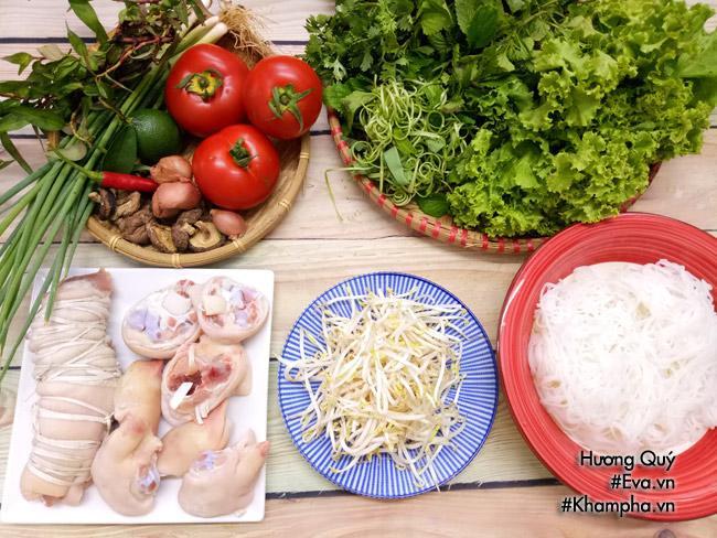 Cách nấu bún giò heo thơm ngon, bổ dưỡng cho bữa sáng - Ảnh 1