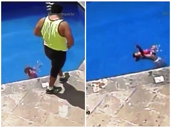 Kinh hãi clip cha dượng ném con gái 3 tuổi xuống bể bơi đến chết - Ảnh 3