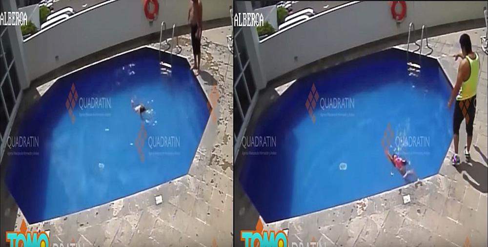 Kinh hãi clip cha dượng ném con gái 3 tuổi xuống bể bơi đến chết - Ảnh 2