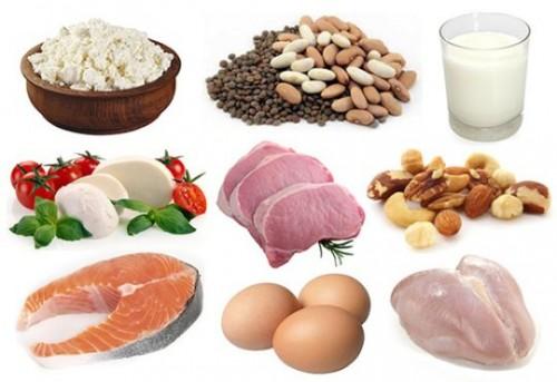 Chế độ ăn uống giảm cân vào bữa tối với thực phẩm giàu protein