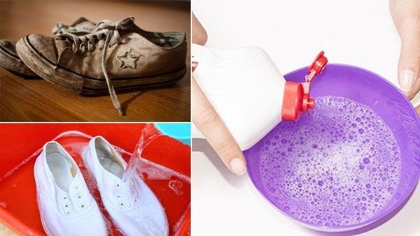 Hè đến, ai mê giày trắng mà không biết 8 mẹo làm sạch giày trắng tinh như mới chưa đến 3 phút thế này thì quá phí - Ảnh 8