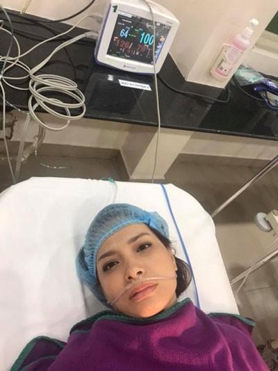 Thúy Hạnh bất ngờ nhập viện cấp cứu chỉ sau 2 tháng cắt bỏ tử cung - Ảnh 2
