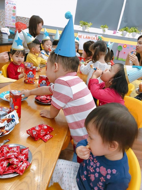 Ly Kute tổ chức sinh nhật 2 tuổi cho con trai Khoai Tây - Ảnh 6