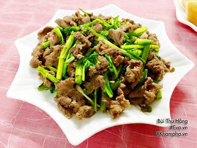 Thịt bò xào, thịt băm rim mặn đậm đà cho bữa chiều ngon miệng - Ảnh 3