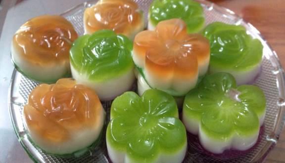 Ăn rau câu tráng miệng sau mỗi bữa ăn giúp giải ngấy hiệu quả