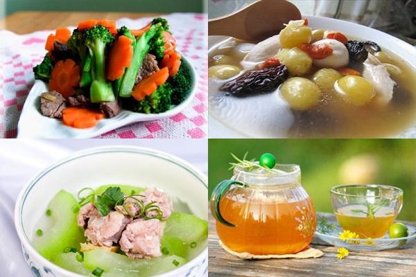 Những món ăn ngon giúp ngăn ngừa dị ứng da ngày Tết