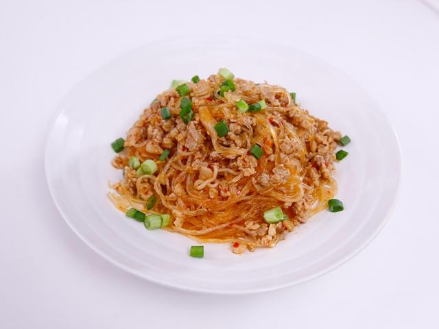 Miến sốt thịt băm cực ngon cho bữa sáng - Ảnh 3