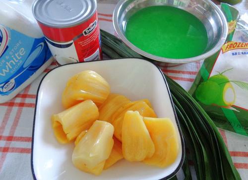 Xôi mít nhiều màu hấp dẫn bữa sáng - Ảnh 1