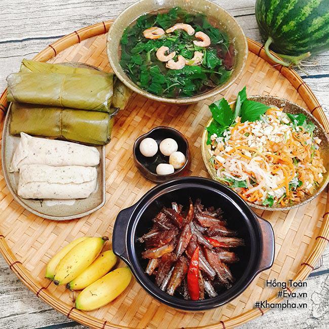 Canh rau dền tôm khô ngọt mát, cá kho đậm đà cả nhà đều thích - Ảnh 1