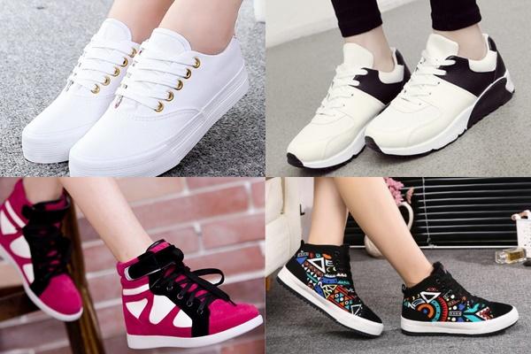 Giày thể thao là xu hướng thời trang đang hot năm 2018