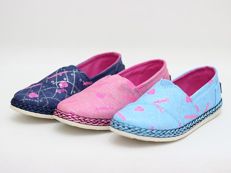 Đẹp cuốn hút với kiểu giày vải cho cô nàng sành điệu