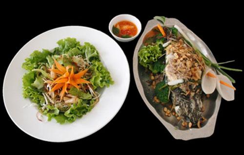 Đổi món cuối tuần với cá hấp patê - Ảnh 1