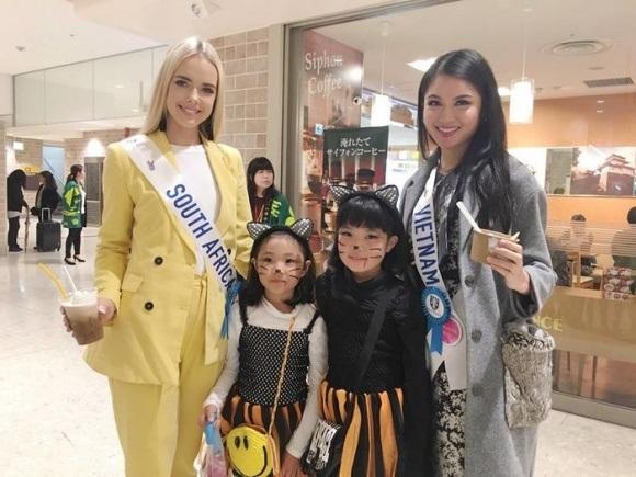 Á hậu Thùy Dung dính bệnh thủy đậu ngay trước thềm chung kết Hoa hậu Quốc tế 2017: Nhan sắc xuống dốc nghiêm trọng - Ảnh 4