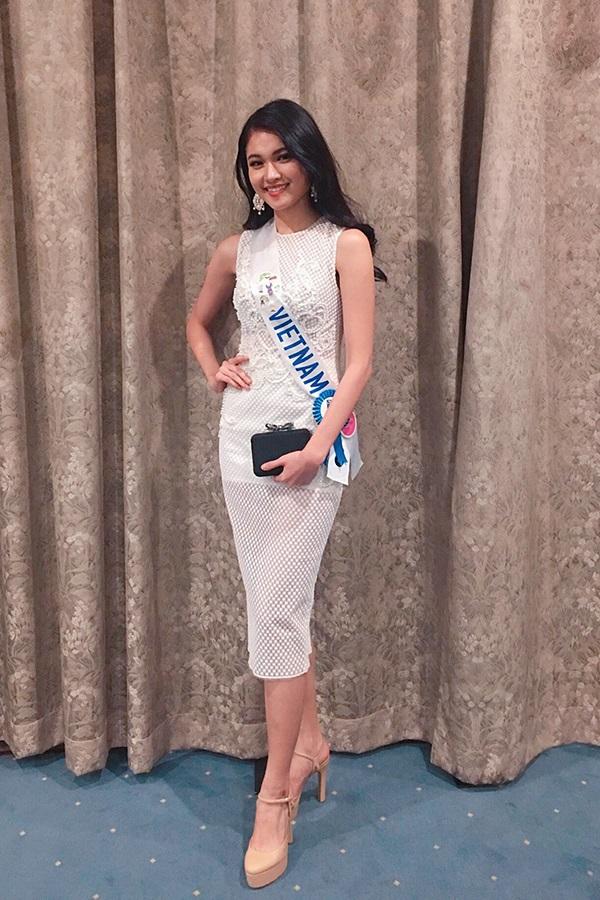 Á hậu Thùy Dung dính bệnh thủy đậu ngay trước thềm chung kết Hoa hậu Quốc tế 2017: Nhan sắc xuống dốc nghiêm trọng - Ảnh 6