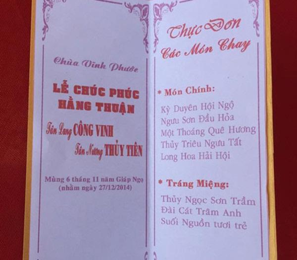 Thực đơn đám cưới mỗi người một kiểu của sao Việt: Người xa xỉ, kẻ giản dị không ngờ - Ảnh 5