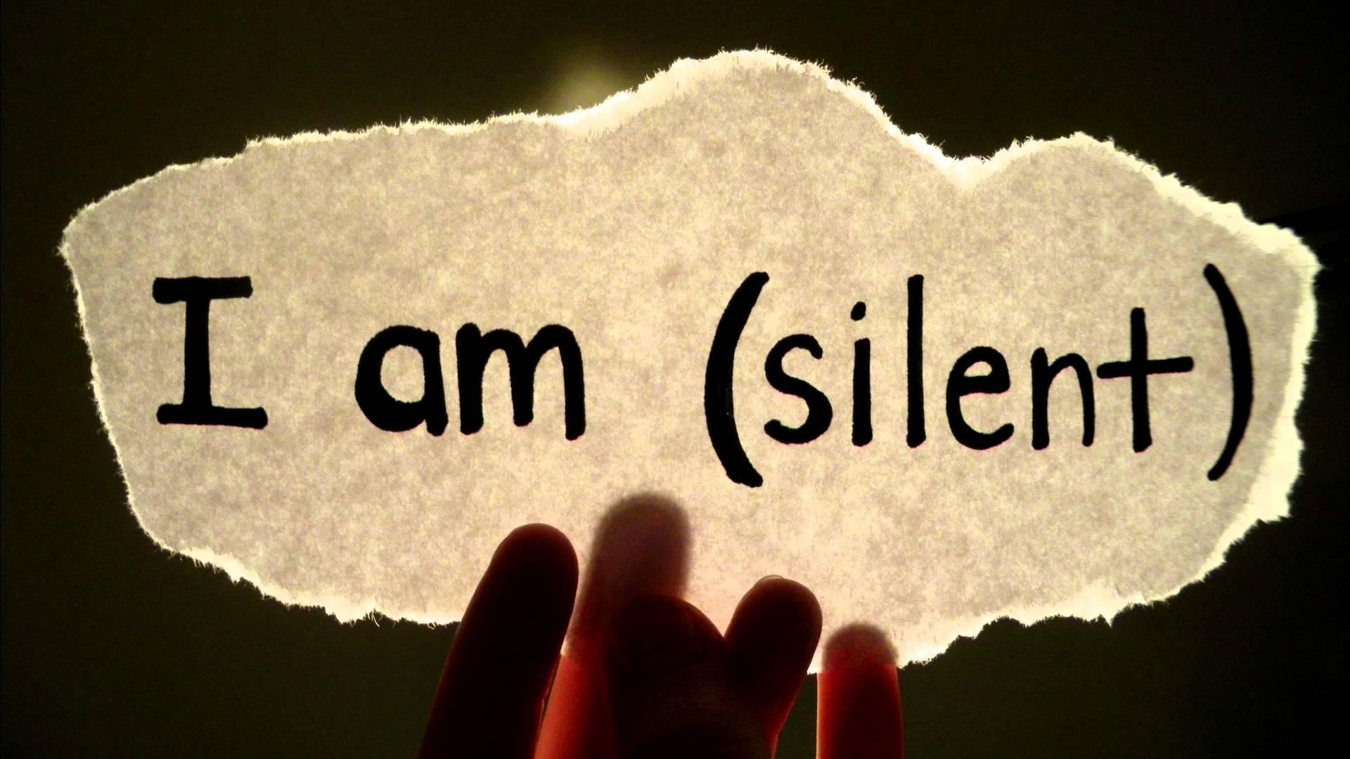 Khi im ắng cất lời và nghệ thuật học cách im lặng trong cuộc sống - Ảnh 1