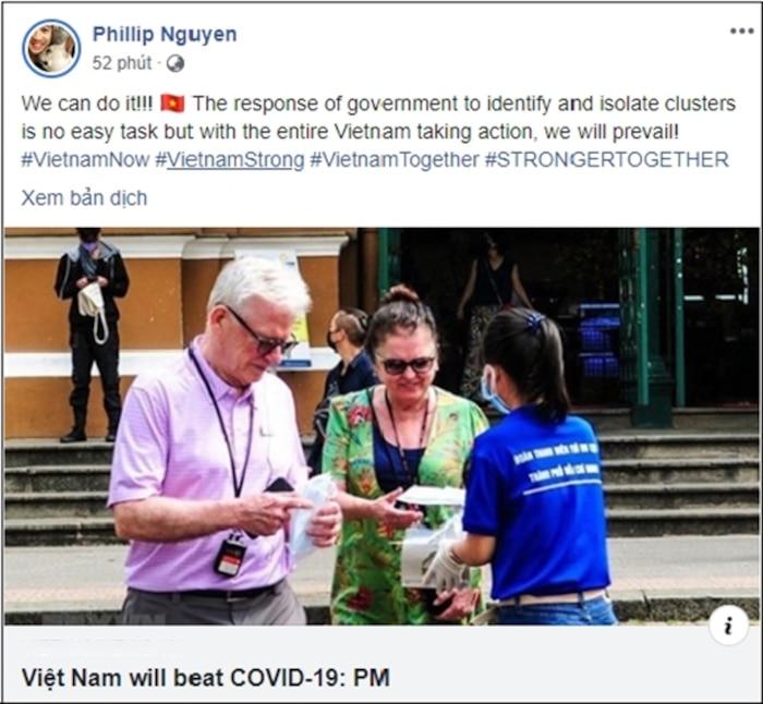 Thiếu gia Phillip Nguyễn gây chú ý với dòng chia sẻ sau khi em gái Tiên Nguyễn được đưa về nước cách ly - Ảnh 1