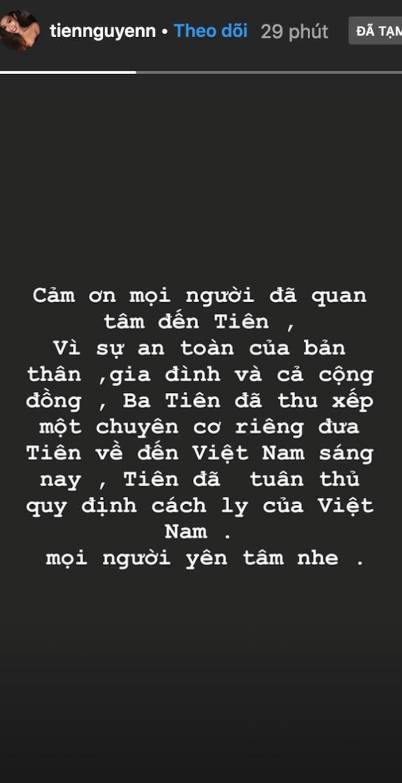 Thiếu gia Phillip Nguyễn gây chú ý với dòng chia sẻ sau khi em gái Tiên Nguyễn được đưa về nước cách ly - Ảnh 3