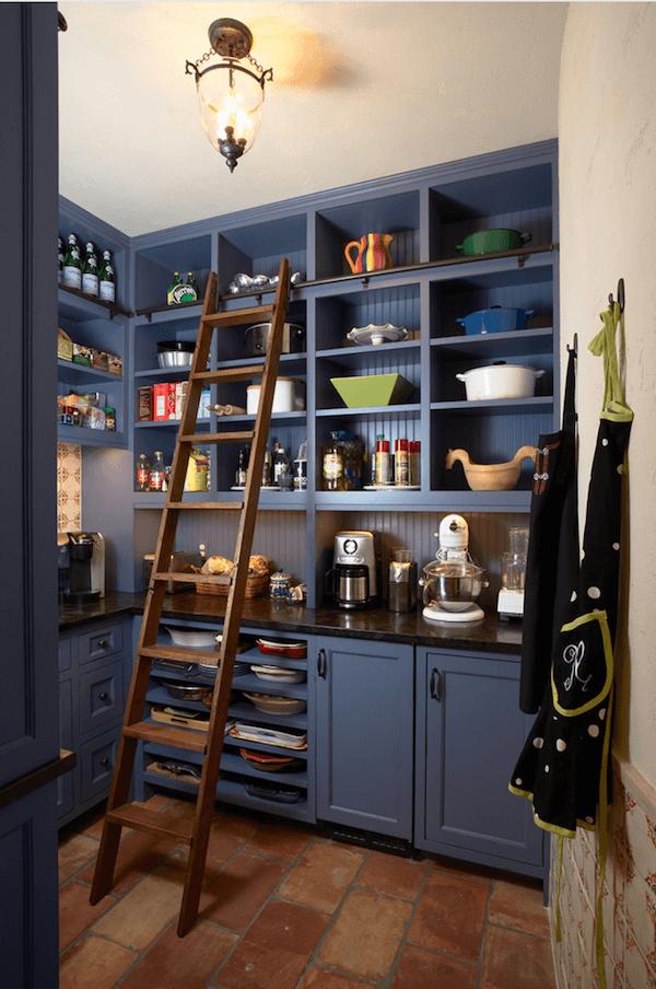 Biến tấu nội thất tronng nhà bằng cách dùng thang để trang trí - Ảnh 6