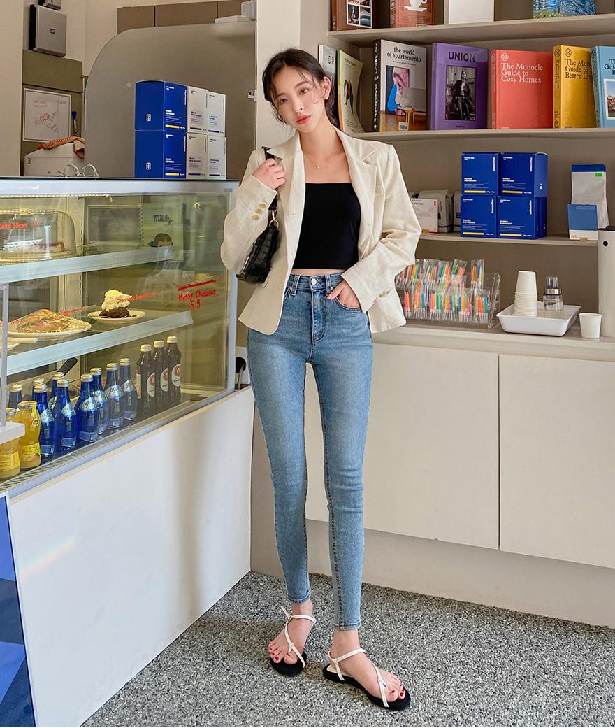 Cách chọn 6 kiểu quần jeans hợp với từng dáng người - Ảnh 1