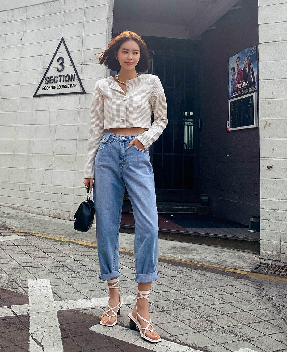 Cách chọn 6 kiểu quần jeans hợp với từng dáng người - Ảnh 4