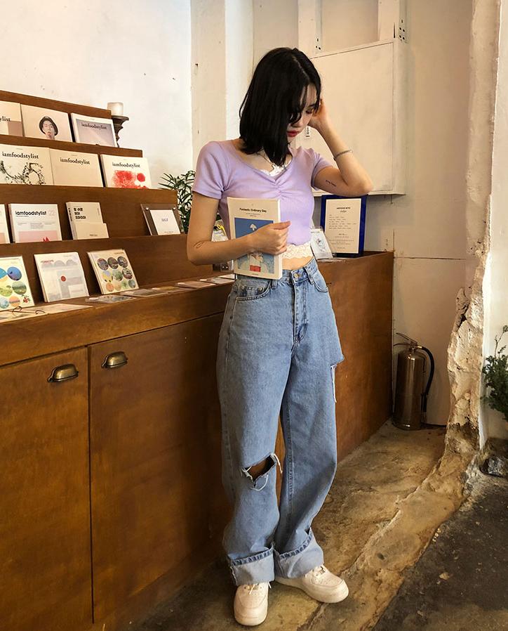Cách chọn 6 kiểu quần jeans hợp với từng dáng người - Ảnh 6