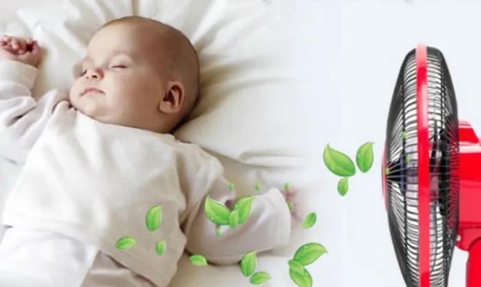 Nên cho trẻ sơ sinh nằm điều hòa hay quạt tốt hơn vào mùa hè? - Ảnh 4