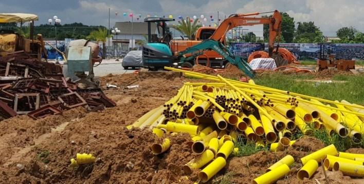 Dự án Golden City, Bình Dương: Chưa được phép rao bán, người dân thận trọng - Ảnh 1