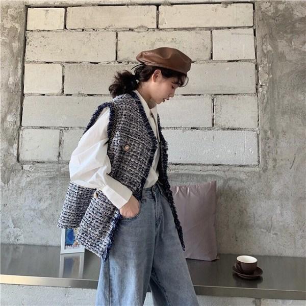 Những kiểu áo giấu 'eo bánh mì' dành cho ngày giao mùa - Ảnh 14