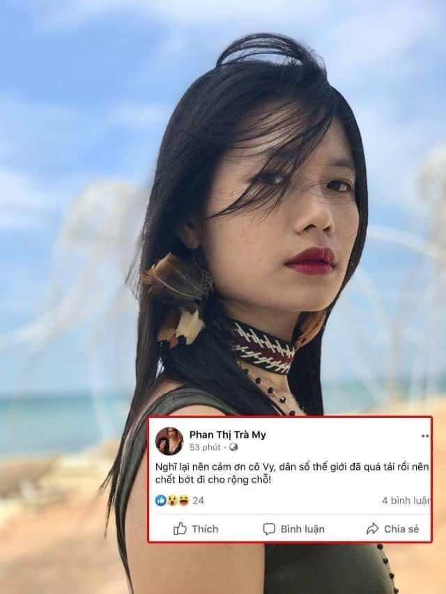 Loạt phát ngôn bị đánh giá vô cảm của diễn viên Trà My trước khi 'cảm ơn cô Vy giúp dân chết bớt' - Ảnh 5