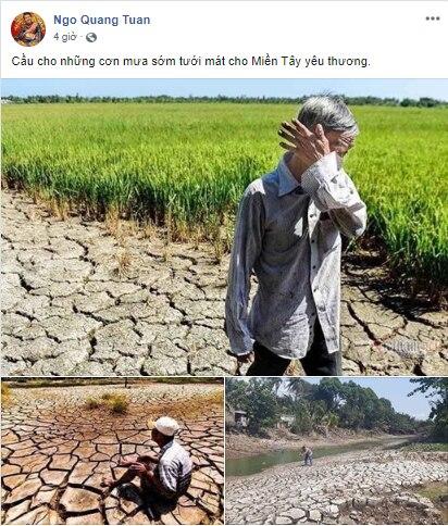 Xót xa trước cảnh hạn mặn miền Tây khiến nhà nông điêu đứng, sao Việt đau lòng bật khóc và chung tay cứu trợ - Ảnh 5
