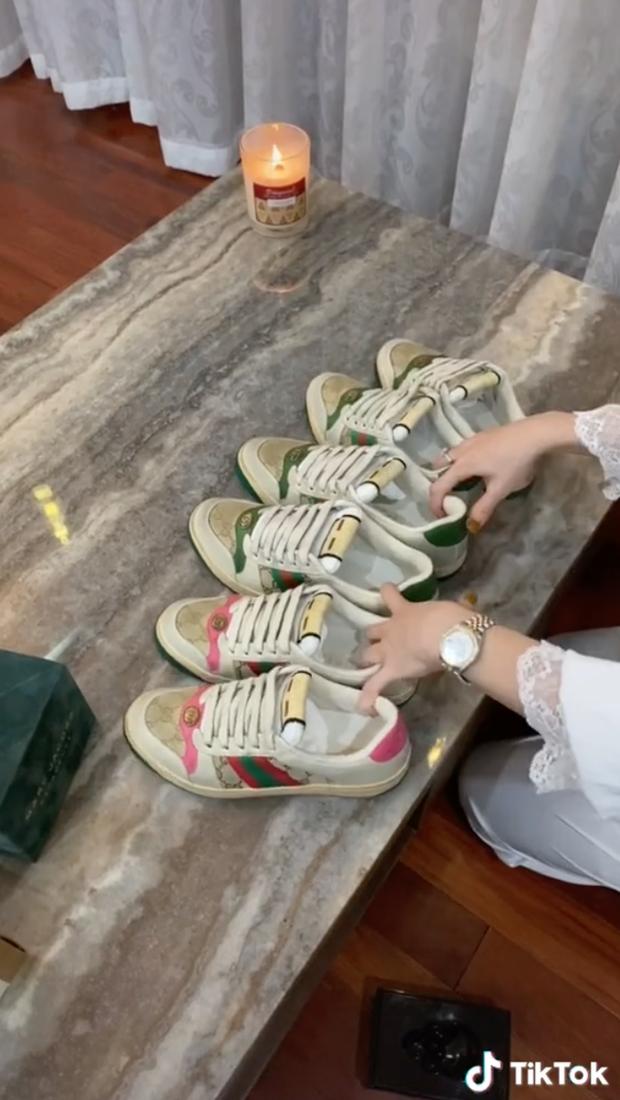 Thảo Trinh - rich kid Hà Tĩnh sinh năm 2000, khiến dân tình choáng váng với màn đập hộp Hermes, Gucci  - Ảnh 6