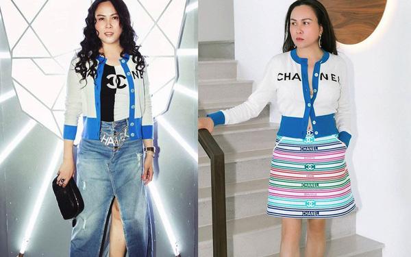 Hàng trăm lần mix hàng hiệu lạc quẻ, hình như Phượng Chanel có 'thù truyền kiếp' với chân váy? - Ảnh 9