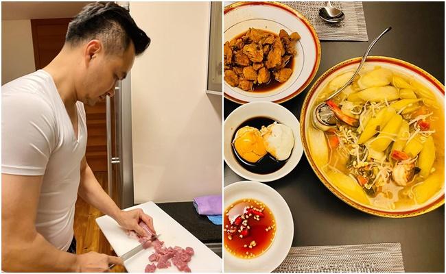 Sao Việt tiết kiệm mùa dịch: Người mặc đồ cả tuần mới giặt, người chăm chỉ vào bếp nấu ăn - Ảnh 8