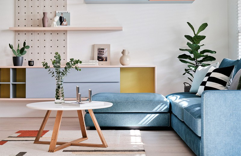 Mê mẩn thiết kế hiện đại của căn hộ 132m2 - Ảnh 2